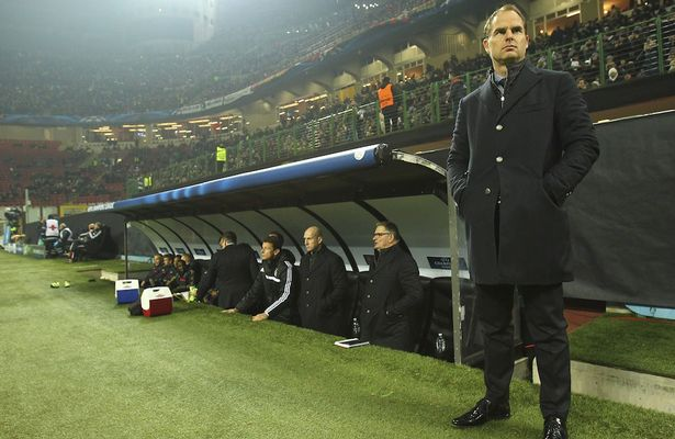 Frank De Boer sacked in the latest Inter Milan saga
