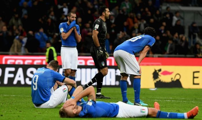 Italy's drastic decline confirmed after qualificationfailure
