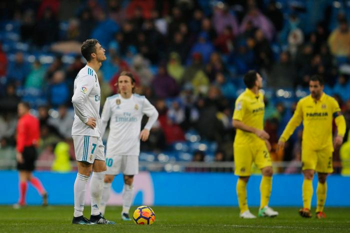 Ronaldo drought emblematic of Real's problems this season