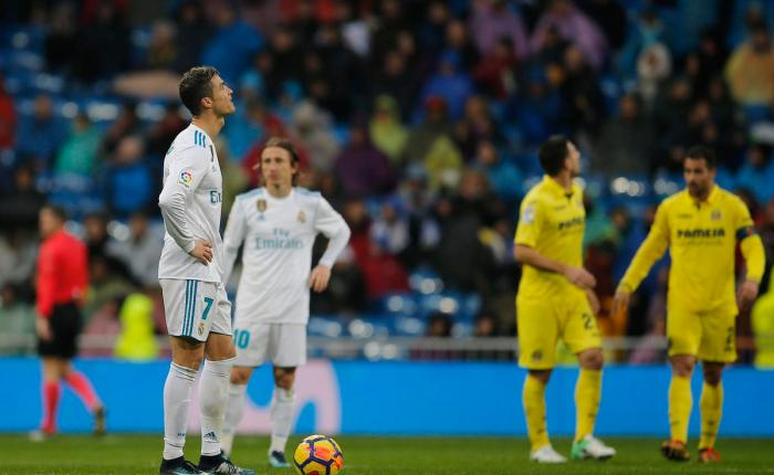 Ronaldo drought emblematic of Real's problems thisseason
