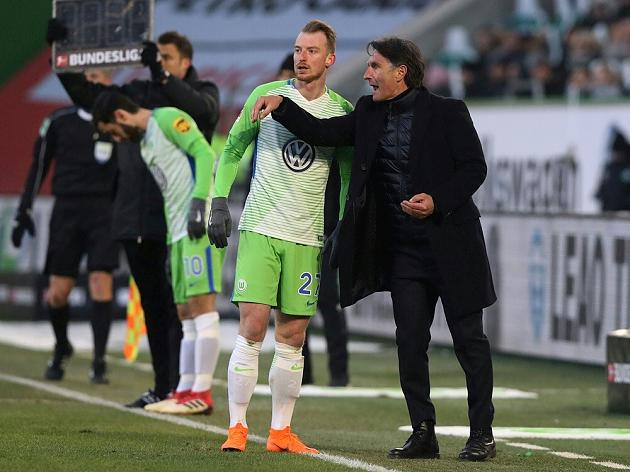 Wolfsburg stuttering nervously to survival