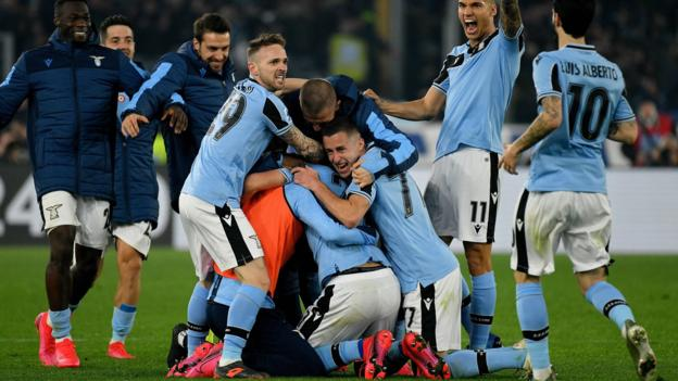 Lazio overcome Inter resistance to intensify title dream